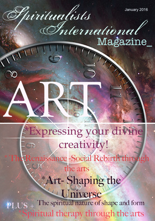 Spiritualists International Magazine January 2016 Art